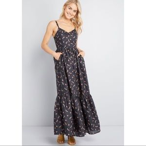 In your nature maxi dress from Modcloth